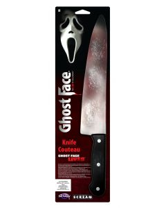 "Ghost Face® 15"" Bloody Butcher Knife"