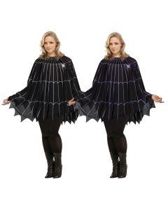 Spider Web Poncho - Plus