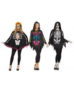 Skeleton Poncho Assortment