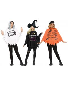 Poncho Party Assortment - Adult