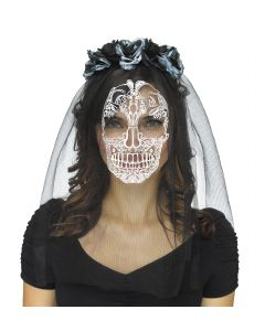 Ghostly Bride Headband & Veil