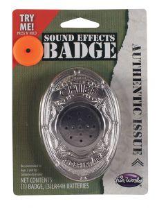 Sound FX Safety Badge Assortment