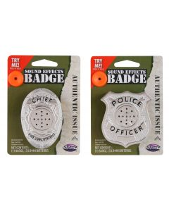 Sound FX Safety Badge Assortment