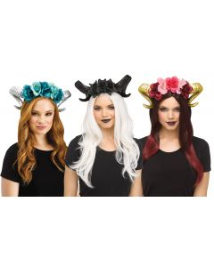 Horn Flower Headpiece Assortment