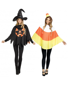 Howl-O-Ween Poncho Assortment - Adult