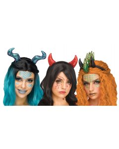 Fantasy Beast Headband & Tattoo Assortment