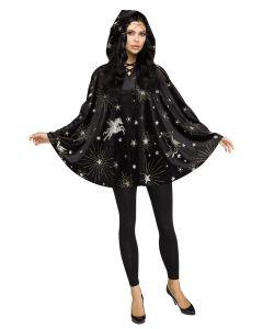 Velvet Sorceress Poncho - Adult