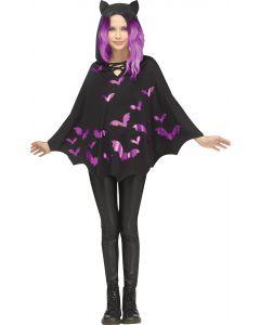Hooded Bat Poncho - Child