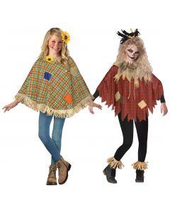 Scarecrow Poncho Assortment - Child
