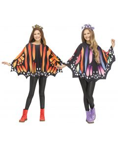 Butterfly Poncho Assortment - Child