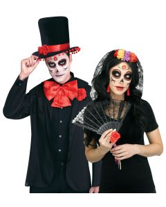 Day of the Dead Bride & Groom Instant Kit Assortment