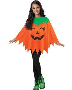 Pumpkin Poncho - Child