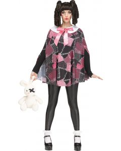 Deadly Dolly Poncho - Adult