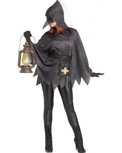 Plague Doctor Poncho - Adult