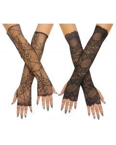 Lace Fingerless Glove Assortment
