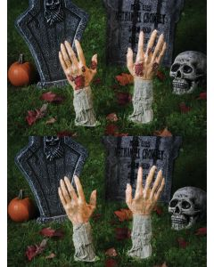 "17"" Gruesome Grave Breakers™ Pair of Hands"