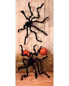 8 Foot LU Plush Black Spider