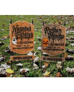 Rotten Realty Sign Assortment