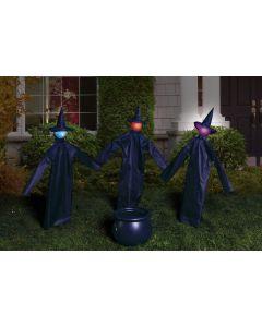 LU Witty Witches & Cauldron