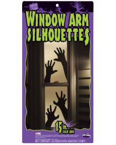 "15"" Window Arm Silhouettes"