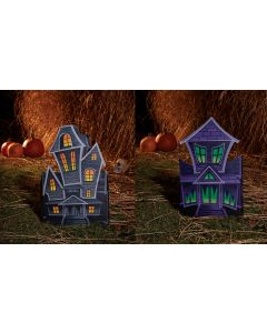 "22"" Folding Haunted House Decor Assortment"