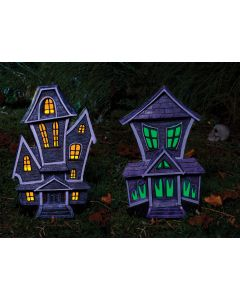 "22"" LU Haunted House Decor Assortment"