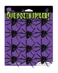 One Dozen Spiders
