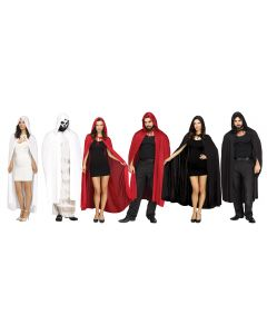 "68"" Hooded Cape Assortment"