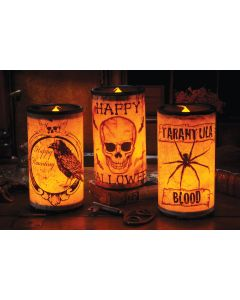 Creepy Candles LED Assortment