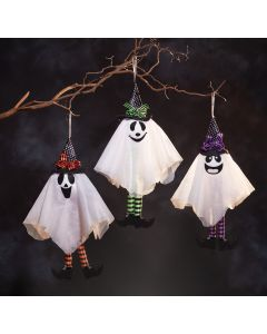 "18"" Hanging Friendly Ghost Assortment"
