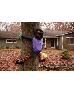 """36"""" Wrong Way Witch Tree Hugger"""