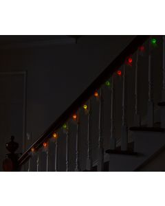 6 Foot Color Change 12 Ghosts Garland