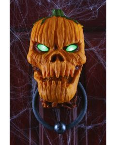 Animated Pumpkin Door Knocker
