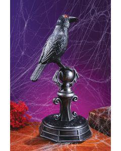 Crow on Perch SFX Decor
