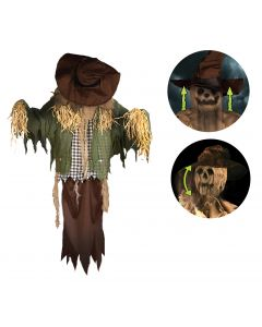 Thrashing Hanging Scarecrow