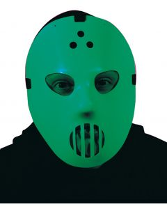 Glow-In-The-Dark Goalie Mask