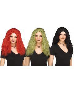 Crimped Sorceress Wig Assortment