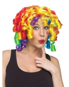Color Curlz Clown Wig