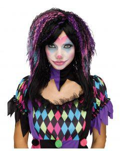 Creepy Carnevil Wig