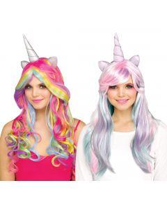 Unicorn Horn Wig Assortment
