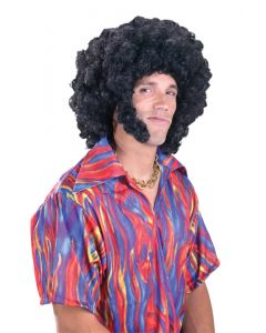 Afro with Chops Wig