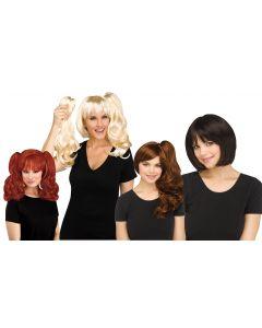 3-In-1 Wig Assortment
