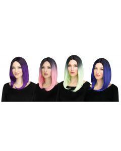 Ombré Lob Wig Assortment