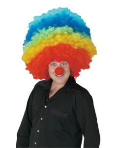 Mega Clown Multi Color Wig