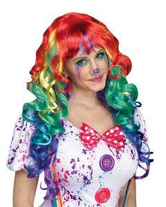 Rainbow Curlz Wig