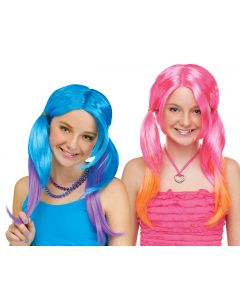 Pigtail Wig Assortment - Child