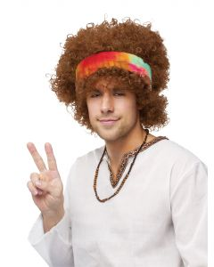 Hippie Fro WIg - Adult