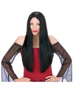 """25"""" Black Long & Lovely Wig"""