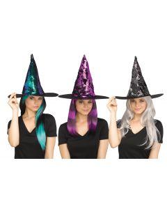 Flip Sequin Witch Hat Assortment
