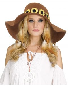Daisy Floppy Hat